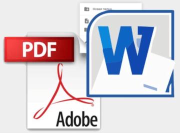 PDF-MS Word