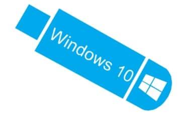 создание флешки для установки windows 10